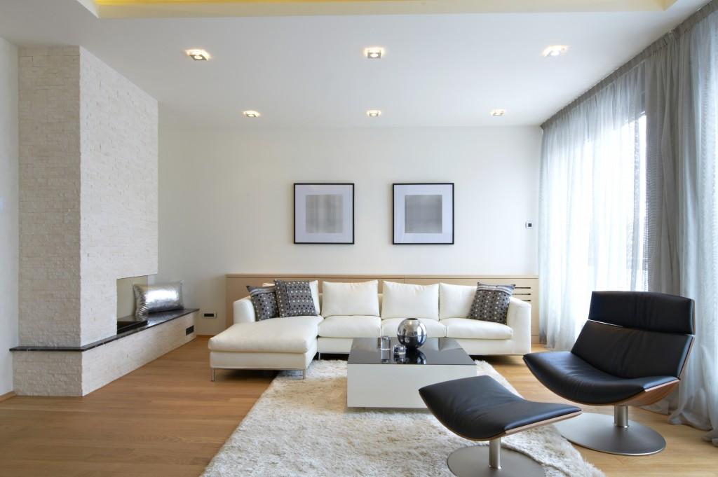 Modern living room interior