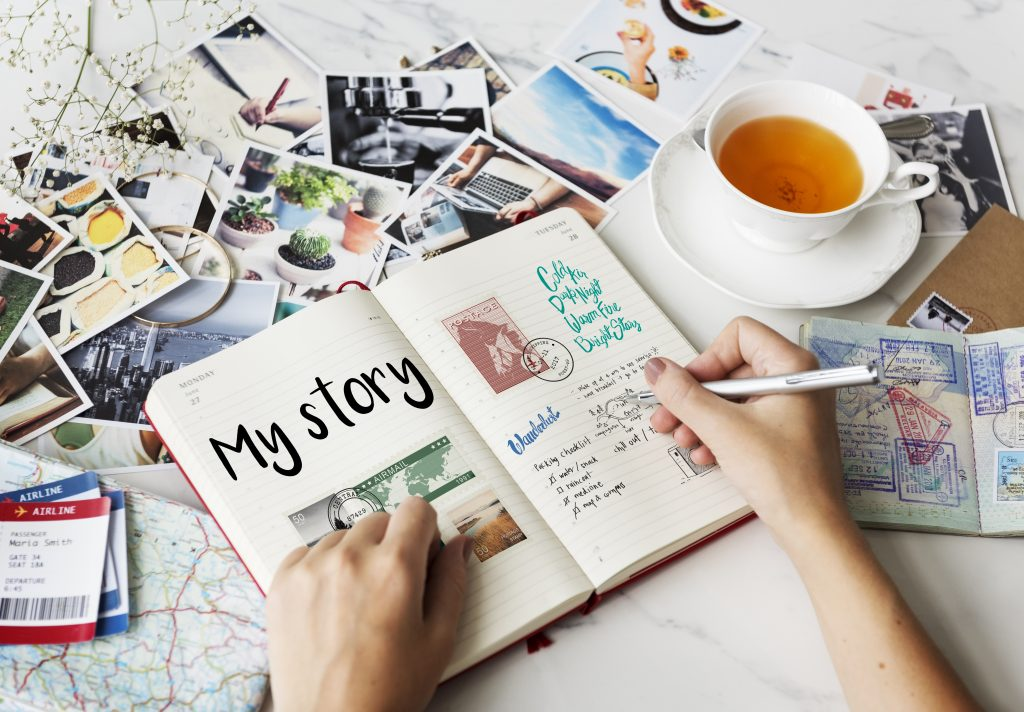 Designing a travel journal