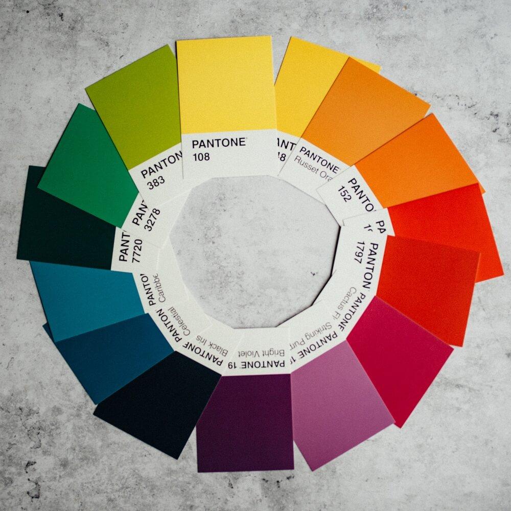 Color wheel 2021