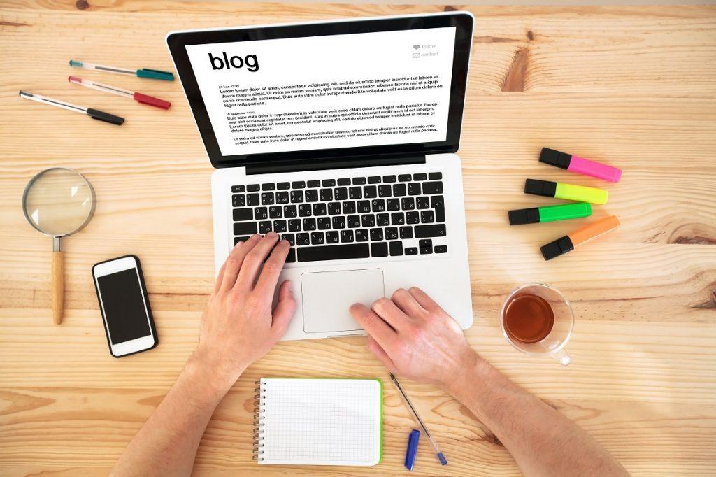 reading a blog