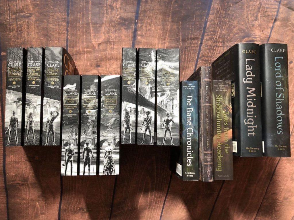 City of Bones books
