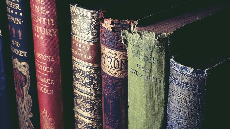 worn out books